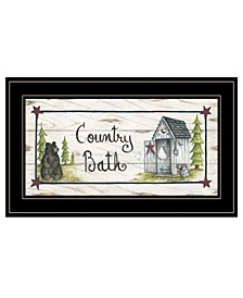 Trendy Decor 4U Country Bath by Mary Ann June, Ready to hang Framed Print Collection