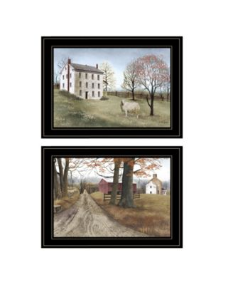 """The Road Home 2-Piece Vignette by Billy Jacobs, Black Frame, 21"""" x 15"""""""