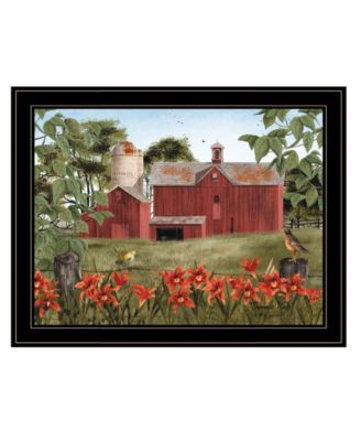 """Summer Days by Billy Jacobs, Ready to hang Framed Print, Black Frame, 27"""" x 21"""""""