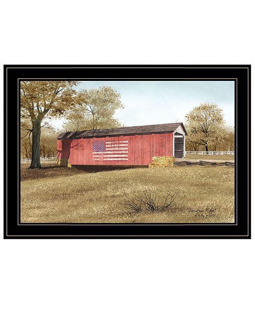"Trendy Decor 4U Trendy Decor 4U Sassafras Ridge by Billy Jacobs, Ready to hang Framed Print, Black Frame, 21"" x 15"""