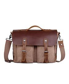 Hudson Canvas Messenger Bag