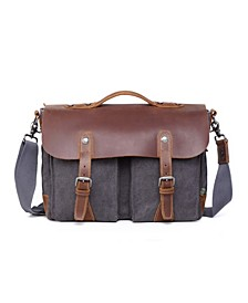 Women's Hudson Canvas Messenger Bag
