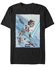 Men's Rise of Skywalker Rey Poster T-shirt