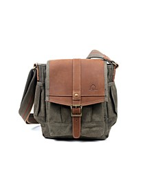 Turtle Ridge Canvas Crossbody Bag