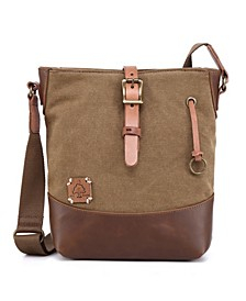 Women's Redwood Canvas Crossbody Bag