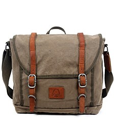 Forest Canvas Messenger Bag