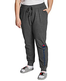 Plus Size Ribbed Joggers