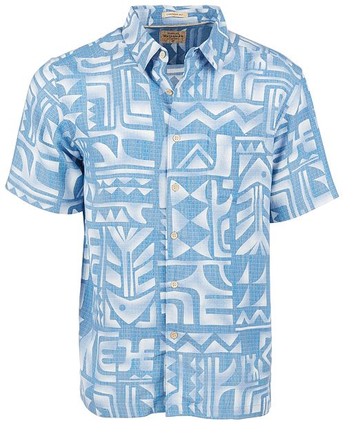 Quiksilver Quiksilver Men's Tama Reef Short Sleeve Shirt