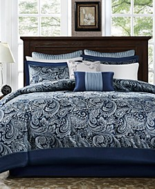 Aubrey Queen 9-Pc. Comforter Set