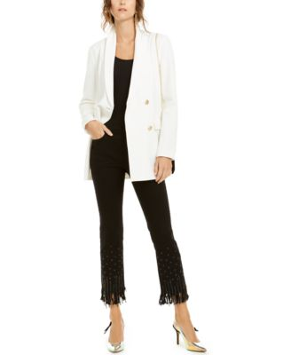INC Embellished-Hem Ankle Jeans, Created For Macy's