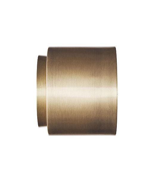 Southern Enterprises Meyer Flush mount Metal Sconce