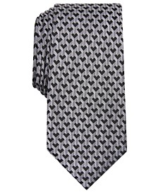 Men's Slim Geometric Tie, Created for Macy's