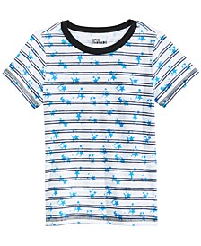Toddler Boys Splatter Stripe T-Shirt, Created For Macy's