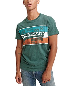 Men's Vintage Racer Logo Graphic T-Shirt