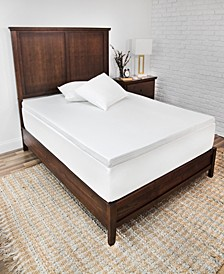 CLOSEOUT! 2-Inch Majestic Ventilated Memory Foam Mattress Topper