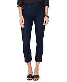 Sheri Tummy Control Slim-Leg Ankle Jeans