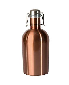 64-Ounce Growler 2 Go Copper