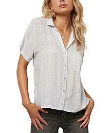 Juniors' Beddoe Printed Shirt