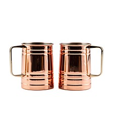 2 Pack Beer Mugs