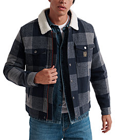 Superdry Men's Hacienda Buffalo Check Jacket
