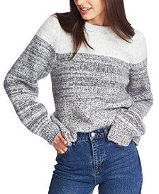 Colorblocked Pullover Sweater