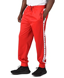 Men's Coca-Cola Regular-Fit Logo Tape Track Pants