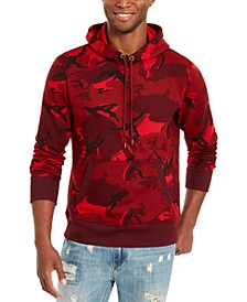 Men's Painterly Camo Hoodie, Created For Macy's