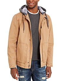 Men's Brushed Back Fleece Jacket, Created For Macy's