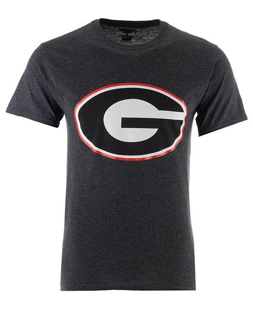 New Agenda Men's Georgia Bulldogs Big Logo T-Shirt