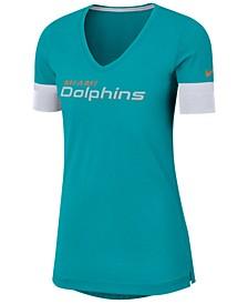 Women's Miami Dolphins Dri-Fit Fan Top