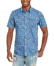 Men's Tropical Print Short Sleeve Shirt
