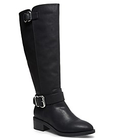 Wit Wide-Calf Riding Boots