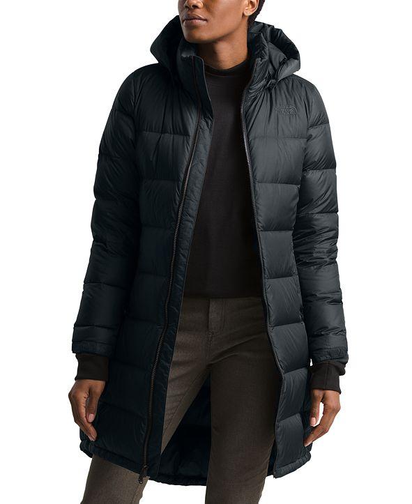 The North Face Women's Metropolis Hooded Parka Coat
