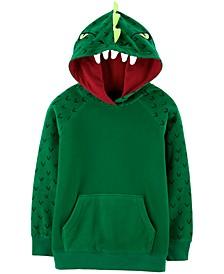 Little & Big Boys Fleece Dragon Hoodie