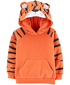 Toddler Boys Fleece Tiger Hoodie