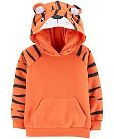Toddler Boys Fleece Tiger Hoodie