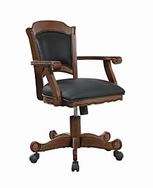 Juneau Game Chair with Casters