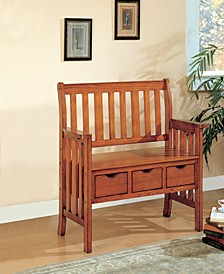 Marino 3-Drawer Storage Bench
