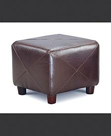 Susanville Cube Shaped Ottoman