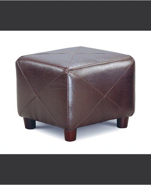 Coaster Home Furnishings Susanville Cube Shaped Ottoman