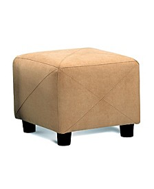 Linda Cube Shaped Storage Ottoman