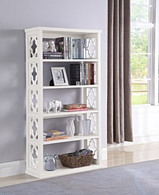 Valdosta Pattern Side Panels Bookcase