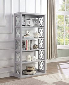 Valdosta Pattern Side Panels Bookcase