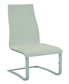 Harlan Faux Leather Dining Chairs, Set Of 4