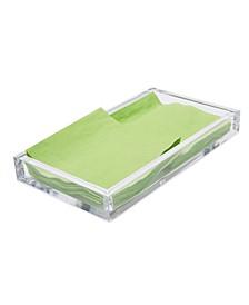 Acrylic Napkin Holder, Flat Napkin Storage Organizer