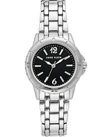 Women's Silver-Tone Bracelet Watch 30mm