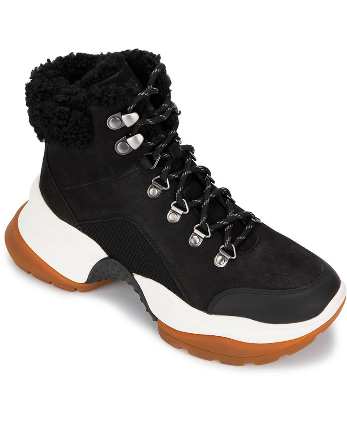 Kenneth Cole New York - Women's Maddox 2.0 Cozy Hiker Booties