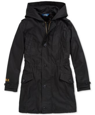 Little Girls 3-in-1 Cotton Sateen Coat, Created For Macy's