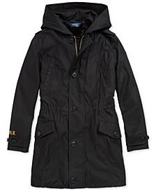 Big Girls 3-in-1 Cotton Sateen Coat