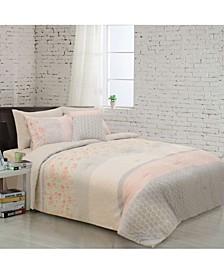 Flora 8 Piece Comforter Set - Full